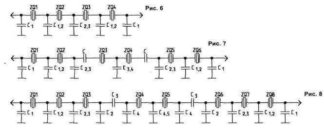 Схема четырехкристального